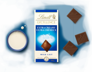 Lindt - Excellence Extra Creamy Milk Chocolate Product Image
