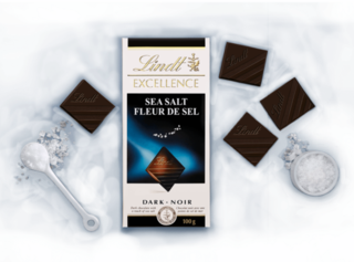 Lindt - Excellence Sea Salt Dark  Product Image