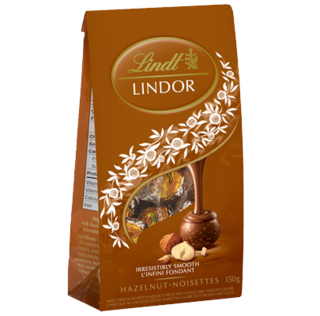 Lindt - Lindor Hazelnut Bag  Product Image