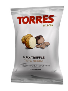 Torres Black Truffle Potato Chips Product Image