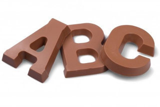 Chocolate Letters  Product Image