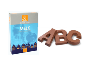 Deheer - Chocolate Letters  Product Image