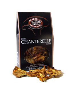 Ponderosa Dried Chanterelle Mushrooms Product Image