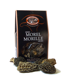 Ponderosa Dried Morel Mushrooms Product Image
