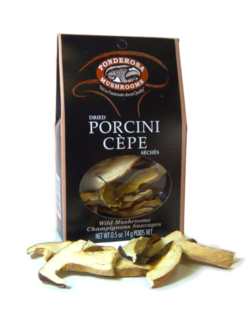 Ponderosa Dried Porcini Mushrooms Product Image
