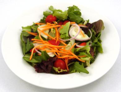 Garden Salad with Vincenzo's Garlic Dressing Product Image