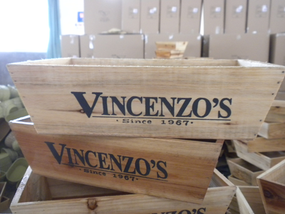 VINCENZO'S Wood Trays- Natural