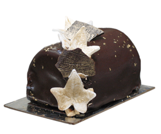 Chocolate Caramel Buche Product Image