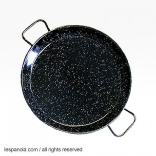 Paella Pan Enamelled Steel, 10cm,15cm or 20cm Product Image