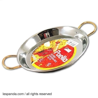Paella Pan, INOX Stainless Steel 26cm;34cm & 42cm Product Image