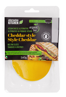Alternative Kitchen - Vegan Cheddar Slices  Product Image