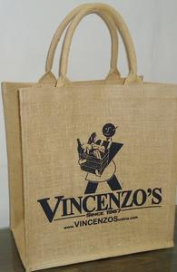 VINCENZO's Burlap Bag Product Image
