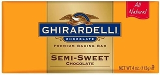 Ghiradelli Baking Bar- Semi Sweet Chocolate Product Image