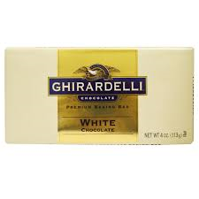 Ghiradelli Baking Bar- White Chocolate Product Image