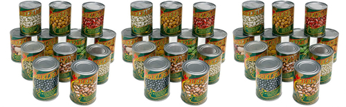 Belfarm - Canned - Romano Beans - 540ml Product Image