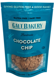 Galt Bakery - Quinoa Puff - Chocolate Chip Product Image