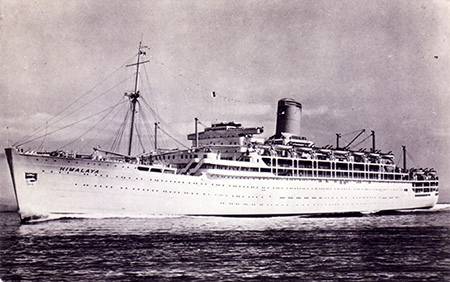 1950s ship from Gulf of Naples