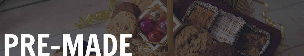 Pre-made Gift Baskets Banner
