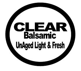 Clear Balsamic Vinegar